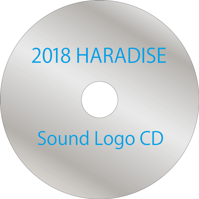 2018HARADISE Sound Logo CD