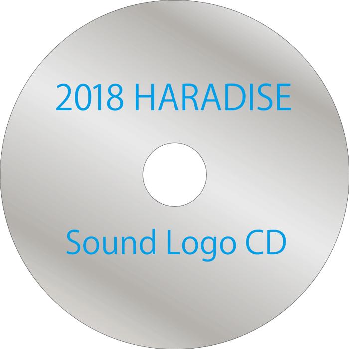2018HARADISE Sound Logo CD